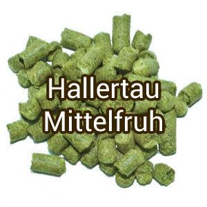 Хмель Hallertau Mittelfruh (Халлертау Миттельфрю) 3,9% 100 гр.